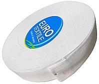 Резинки для одежды (40mm/40m) белый, тесьма эластичная полиэстер