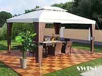 Роскошный павильон шатер садовый 3x4 м