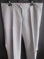 Серые мужские брюки на пуговицах