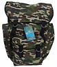 Рюкзак, объем 55л, отлично держит форму, химическая нейтральность, дышащая ткань