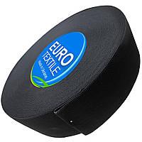 Резинки для одежды (60mm/40m) черный, тесьма эластичная полиэстер, фото 1