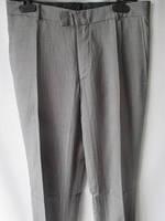 Серые классические мужские брюки