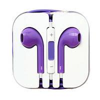 Наушники Apple EarPods (Китай) Фиолетовый