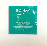 Увлажняющая сыворотка Aquasource Deep Serum Biotherm 1ml