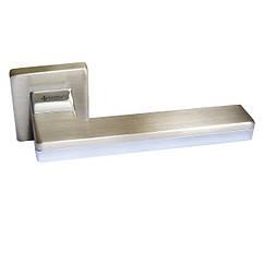 Ручка дверная System LARISSA 100RO11 NBM-CR/NBM