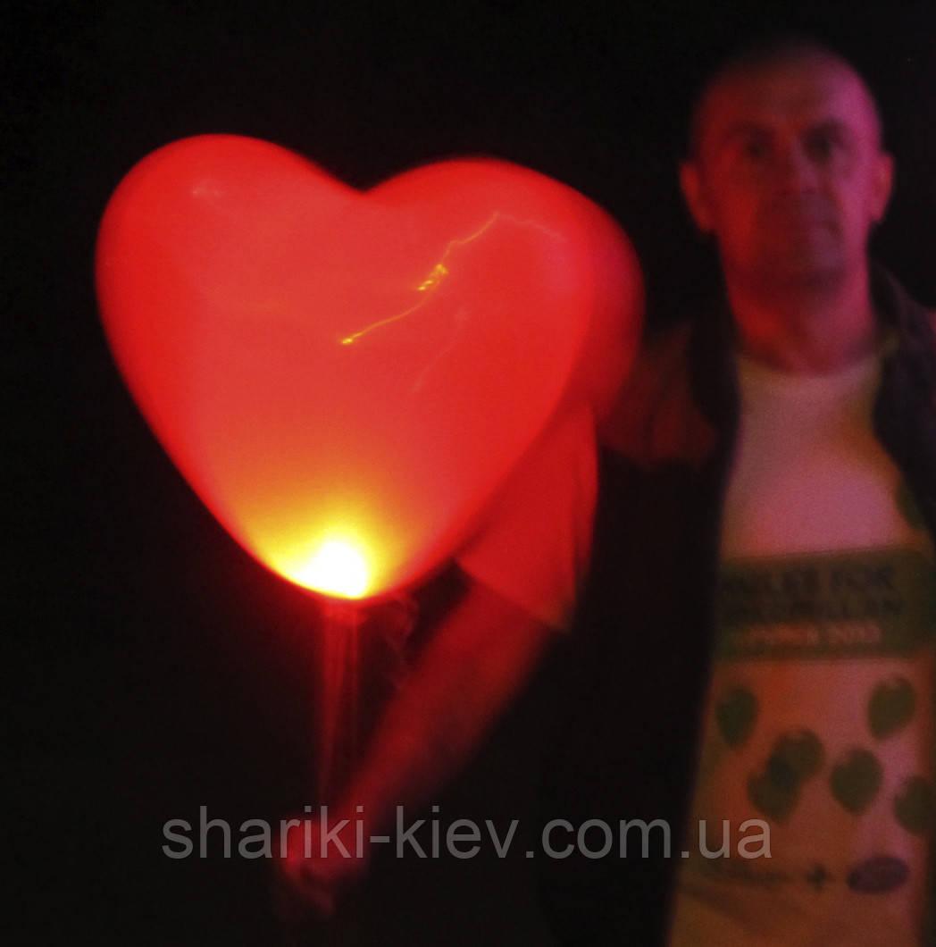 Светящееся сердце
