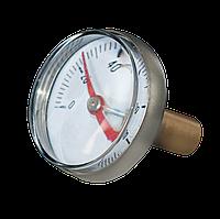 Термометр фронтальный 0`-120`C 42 мм хром Evo с увеличительным стеклом