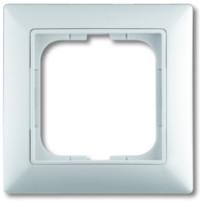 Рамка 1 пост, белый,  Basic55