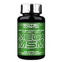 Mega MSM Scitec Nutrition 100caps. Для снятия воспаления и восстановления суставов