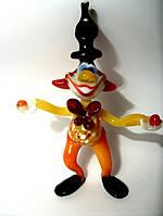 Стеклянная фигурка Клоун а-507