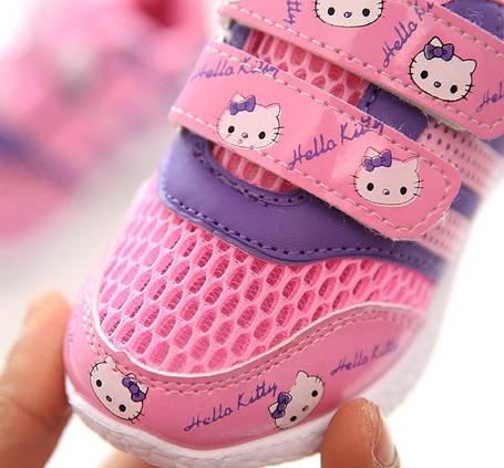Детские летние кроссовки (сетка), фото 2