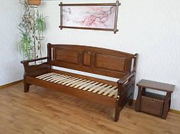 """Наш лидер продаж!!! Деревянный кухонный диван """"Орфей"""" (1900*700), массив дерева - ольха, покрытие № 11. 1"""