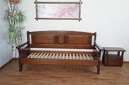 """Наш лидер продаж!!! Деревянный кухонный диван """"Орфей"""" (1900*700), массив дерева - ольха, покрытие № 11."""