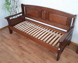 """Наш лидер продаж!!! Деревянный кухонный диван """"Орфей"""" (1900*700), массив дерева - ольха, покрытие № 11. 3"""