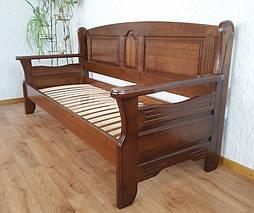 """Наш лидер продаж!!! Деревянный кухонный диван """"Орфей"""" (1900*700), массив дерева - ольха, покрытие № 11. 5"""