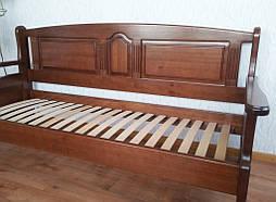 """Наш лидер продаж!!! Деревянный кухонный диван """"Орфей"""" (1900*700), массив дерева - ольха, покрытие № 11. 6"""