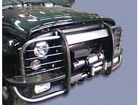 Бампер передний УАЗ 469, Хантер Браконьер с кенгурином с защитой двигателя, защитой фар, площадкой под лебедку