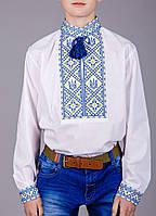 Мальчиковая сорочка с украинской символикой