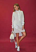 Платье-рубашка Ann Undine White, фото 1