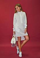 Платье-рубашка Ann Undine White
