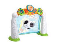 Развивающая игрушка детский Футбол музыкальные ворота, свет, регистратор, мяч