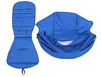 Сменный текстиль для прогулочной коляски YOYA синий