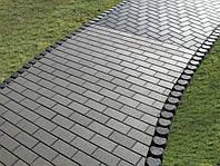 Тротуарная плитка Кирпичик 40мм Персик