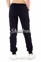 Спортивные брюки женские, теплые, синие, недорого