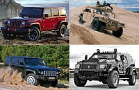 Военные автомобили, которые стали гражданскими.