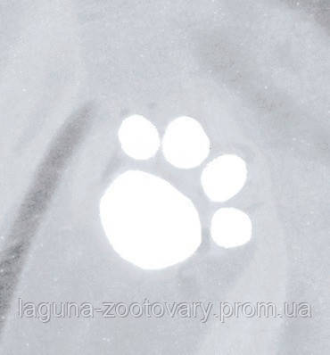 Дождевик - попона для собак, 34см, прозрачный, фото 2
