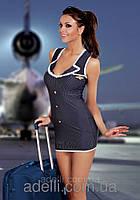 Эротическое платье стюардессы Stewardess Jeanne Hamana