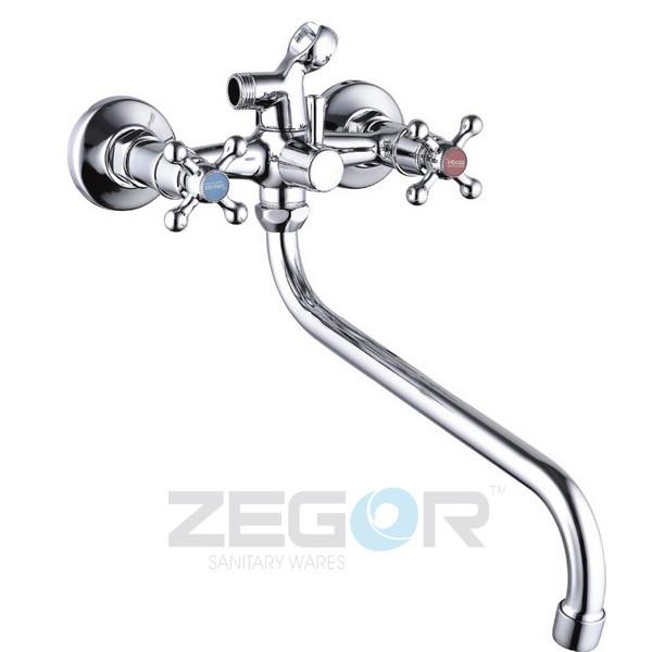 Смеситель для ванны Zegor T61-DMX7-A605