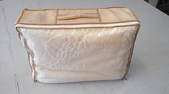 Упаковка для детских одеял, пледов (520х400х150мм) ПВХ 90 Бежевый