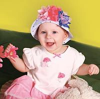 Панамка для маленькой девочки ДЕМБОХАУС р-ры 44