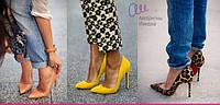 Туфли на шпильке на лето - сумасшедшие принты, модные цвета и удобные фасоны.