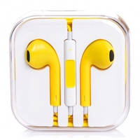 Наушники Apple EarPods (Китай) Желтый
