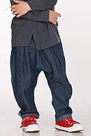 Летние льняные штанишки унисекс. Размеры:  92 см, фото 1