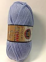 Пряжа nako pure wool - цвет голубой