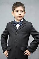 Школьный костюм - тройка на мальчика Мокрый асфальт