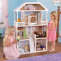 Кукольный домик для Барби с мебелью Саванна KidKraft 65023