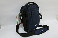 Сумка барсетка Nike (20850) синяя код 0301А
