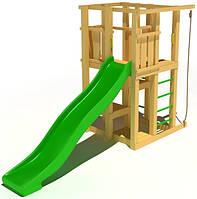 """Детский комплекс Kidigo """"Прекрасный"""" с пластиковой горкой высотой 1,5 м"""