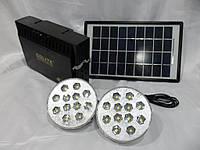 Солнечно-аккумуляторная станция GD-8012B, защита от перегрузки