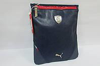 Сумка-планшет Puma (072241-02) синяя код 0338А