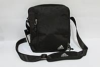 Сумка барсетка Adidas (2133) черная код 0339А