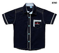 Рубашка для мальчика. 110, 122 см