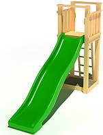 """Детский комплекс Kidigo """"Любимый"""" с пластиковой горкой высотой 1,5 м"""
