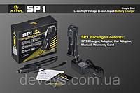 Импульсные зарядное устройство для аккумуляторов Xtar SP1 Li-Ion 12 В,220 В