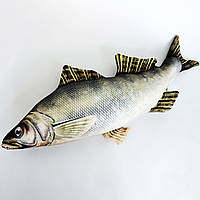 Игрушка антистресс рыба судак малая
