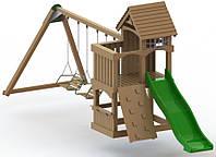 """Детский комплекс Kidigo """"Атлантис"""" с пластиковой горкой высотой 1,2 м"""